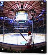 Washington Capitals V New York Rangers Acrylic Print