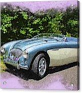 1956 Austin Healey 100-4 M  Acrylic Print