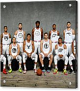 2019 Nba All Star Portraits Acrylic Print