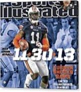 11-30-13 War Damn Miracle Auburn Shocks Bama Sports Illustrated Cover Acrylic Print