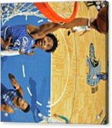 Charlotte Hornets V Orlando Magic Acrylic Print