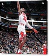 Chicago Bulls V Sacramento Kings Acrylic Print