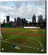 Chicago Cubs V Pittsburgh Pirates 11 Acrylic Print
