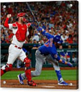 Chicago Cubs V St Louis Cardinals 11 Acrylic Print