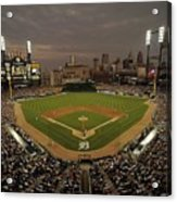 Cleveland Indians V Detroit Tigers Acrylic Print