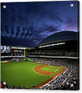 Colorado Rockies V Miami Marlins Acrylic Print