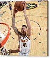 Golden State Warriors V Denver Nuggets Acrylic Print