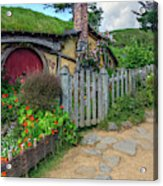 Hobbiton - New Zealand Acrylic Print
