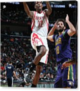 Houston Rockets V New Orleans Pelicans Acrylic Print
