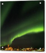 Ilulissat Icefjord Also Called Kangia Acrylic Print