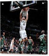 Milwaukee Bucks V Brooklyn Nets Acrylic Print