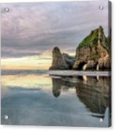 Wharariki Beach - New Zealand Acrylic Print