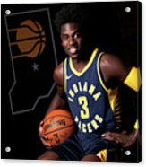 2018-19 Indiana Pacers Media Day Acrylic Print