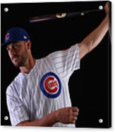 Chicago Cubs Photo Day 12 Acrylic Print