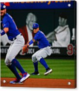 Chicago Cubs V St Louis Cardinals 12 Acrylic Print
