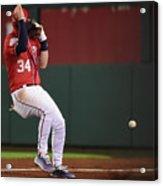 New York Mets V Washington Nationals 12 Acrylic Print