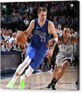 San Antonio Spurs V Dallas Mavericks Acrylic Print