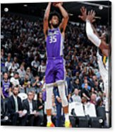 Utah Jazz V Sacramento Kings Acrylic Print