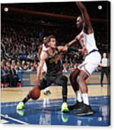 Atlanta Hawks V New York Knicks Acrylic Print