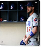 Chicago Cubs V Milwaukee Brewers 13 Acrylic Print