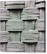 Fabric Background Acrylic Print