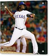 Houston Astros V Texas Rangers Acrylic Print
