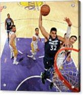 Minnesota Timberwolves V Los Angeles Acrylic Print
