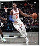 New York Knicks V Brooklyn Nets Acrylic Print