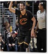 New York Knicks V Cleveland Cavaliers 13 Acrylic Print