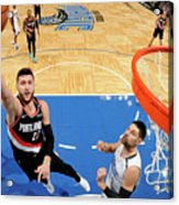 Portland Trail Blazers V Orlando Magic Acrylic Print