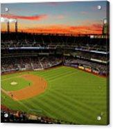 Washington Nationals V New York Mets Acrylic Print