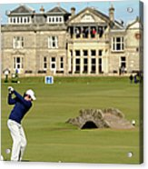 139th Open Championship - Third Round Acrylic Print