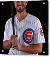 Chicago Cubs Photo Day 14 Acrylic Print