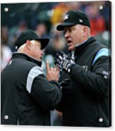 Chicago White Sox V Detroit Tigers Acrylic Print