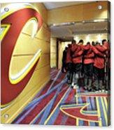 Houston Rockets V Cleveland Cavaliers Acrylic Print