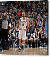 Memphis Grizzlies V San Antonio Spurs Acrylic Print