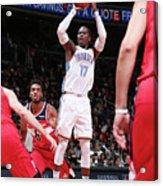 Oklahoma City Thunder V Washington Acrylic Print