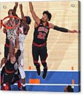 Chicago Bulls V New York Knicks Acrylic Print