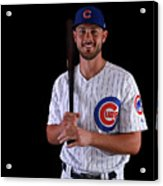 Chicago Cubs Photo Day 15 Acrylic Print