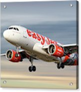 Easyjet Airbus A319-111 Acrylic Print