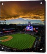 Los Angeles Dodgers V Colorado Rockies Acrylic Print