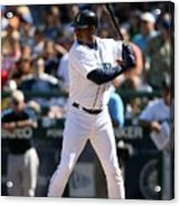 New York Yankees V Seattle Mariners Acrylic Print