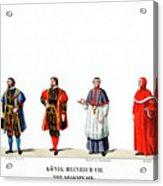 Theatre Costume Designs Acrylic Print
