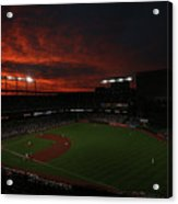 Toronto Blue Jays V Baltimore Orioles Acrylic Print