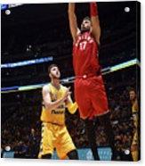Toronto Raptors V Denver Nuggets Acrylic Print