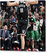 Boston Celtics V Brooklyn Nets Acrylic Print