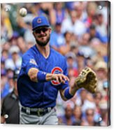 Chicago Cubs V Milwaukee Brewers 16 Acrylic Print