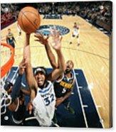 Denver Nuggets V Minnesota Timberwolves Acrylic Print