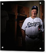 Los Angeles Dodgers Photo Day Acrylic Print