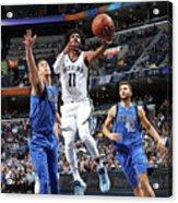 Dallas Mavericks V Memphis Grizzlies Acrylic Print